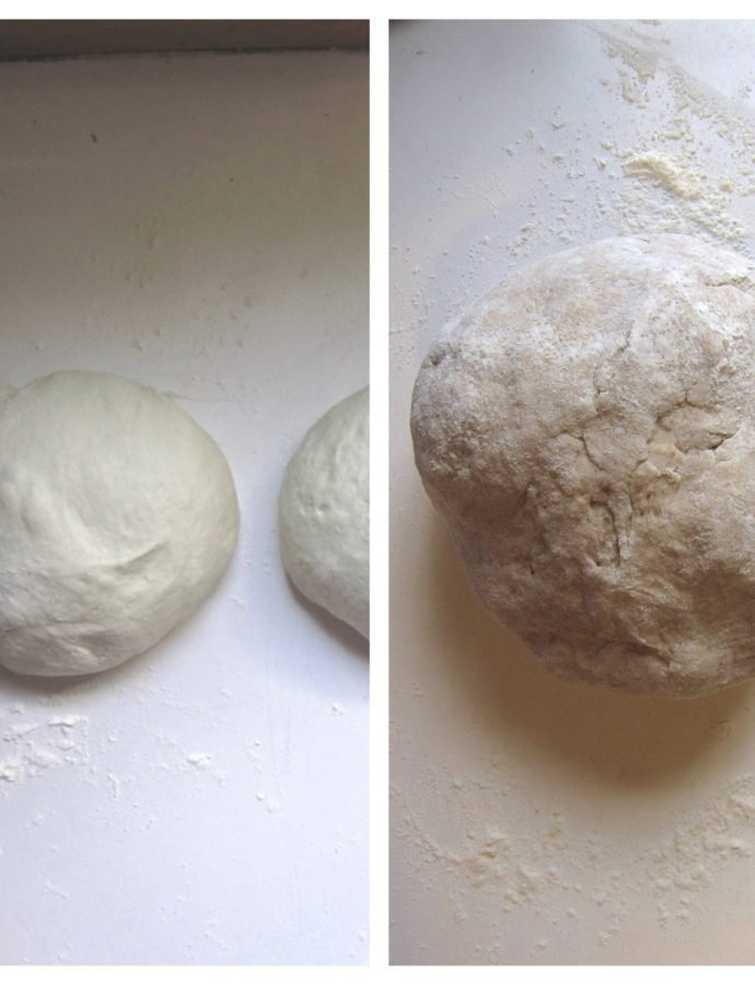 Homemade Pizza Dough- Whole Wheat and Basic