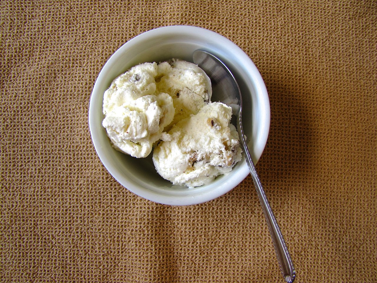 Vanilla Cookie Dough Ice Cream