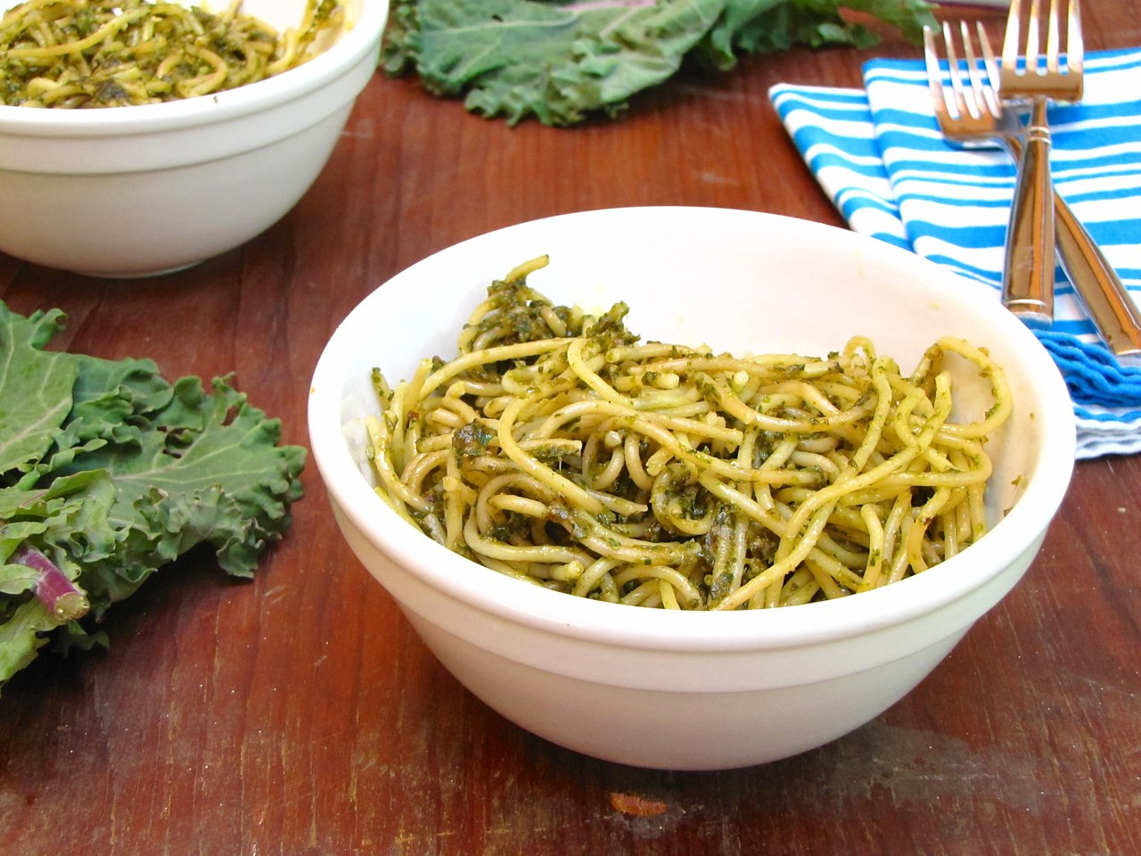 Kale and Sunflower Seed Pesto