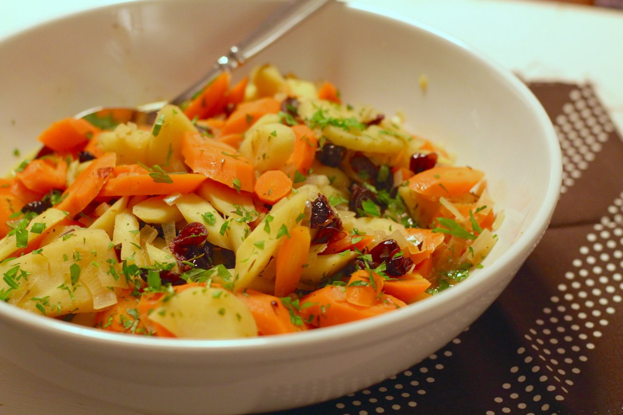 Braised Root Vegetables