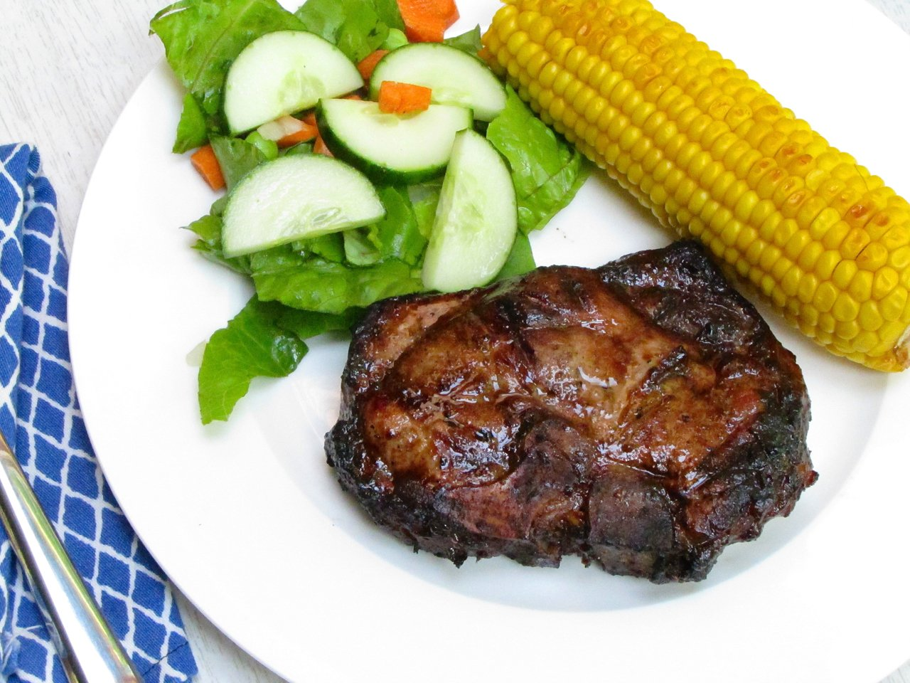 Teriyaki Grilled Pork Chops
