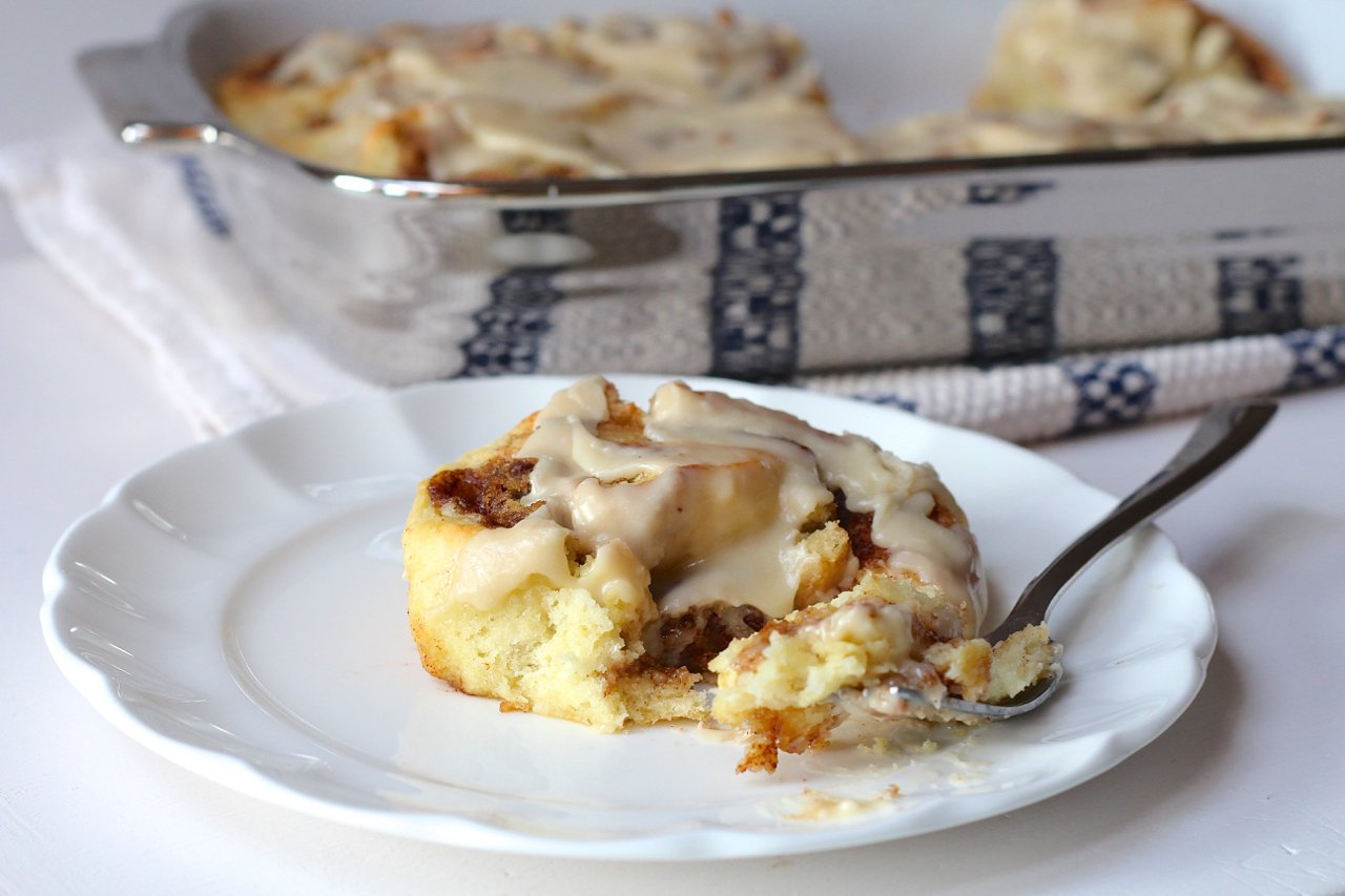 Cookie Dough-Stuffed Cinnamon Rolls