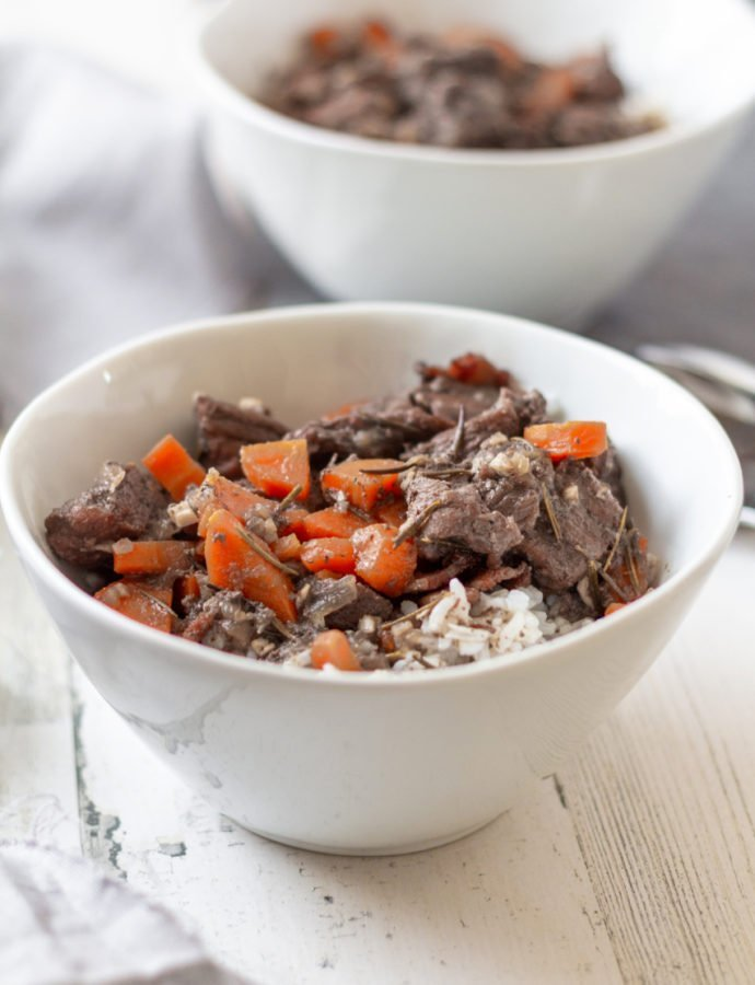 Stew Beef with Rice