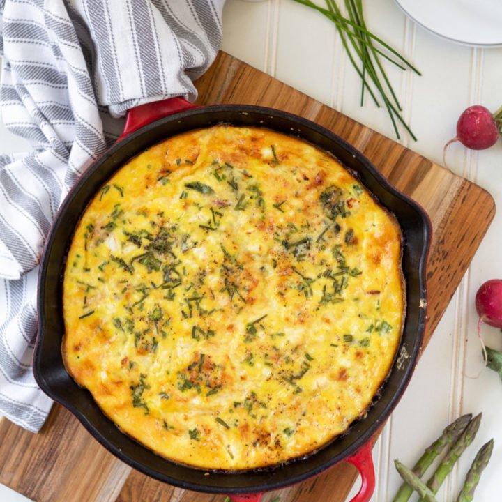 Spring Vegetable Frittata