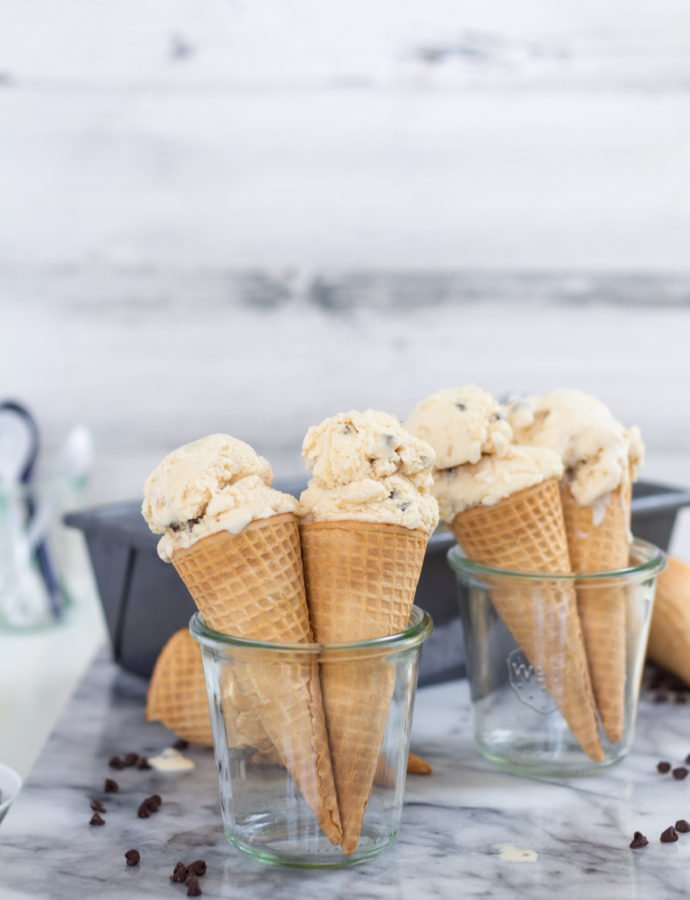 Brown Sugar Cookie Dough Ice Cream