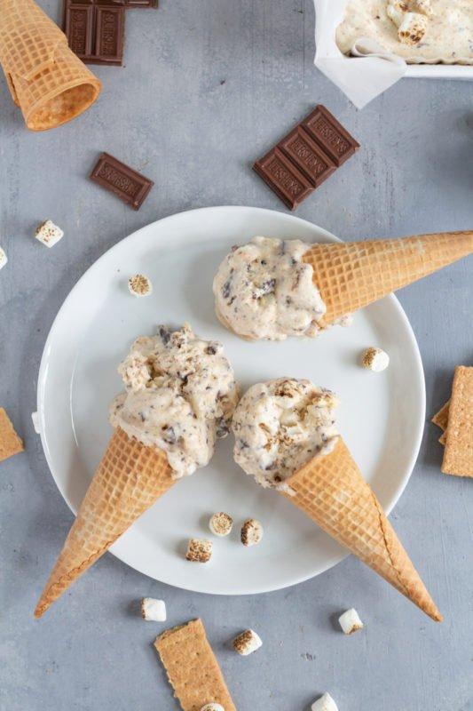 marshmallow ice cream