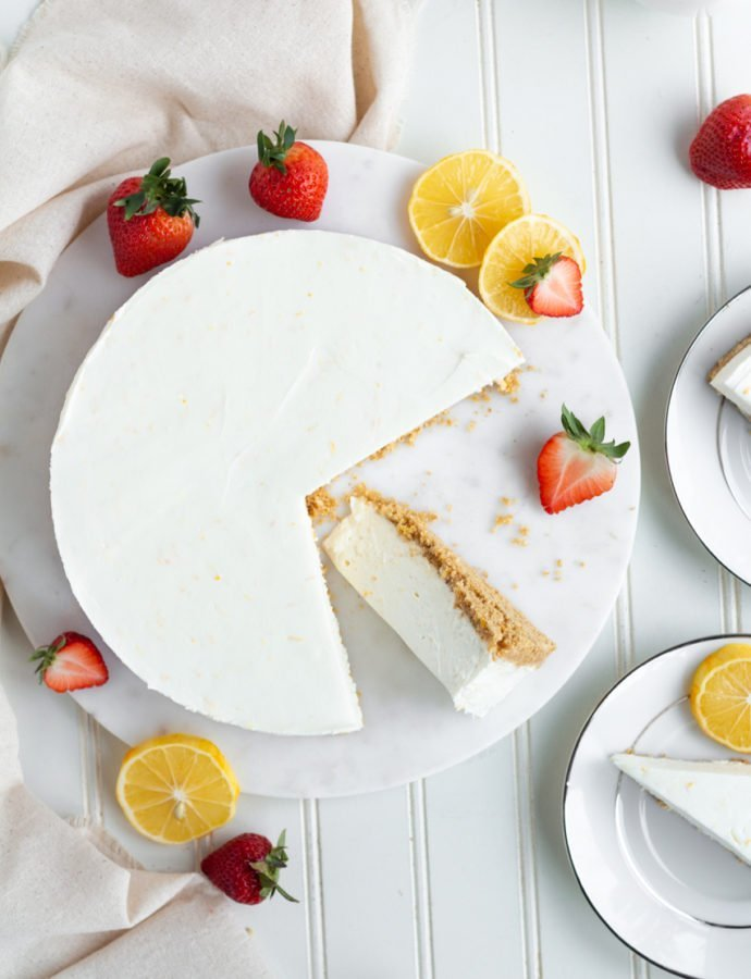 Meyer Lemon Cream Pie