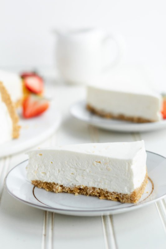 Meyer Lemon Cream Pie slice
