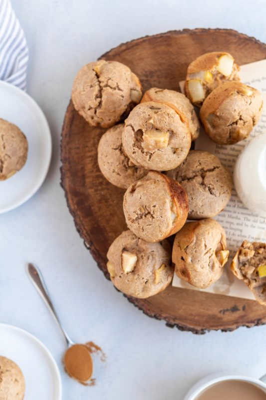 Spiced Pear Muffins island bakes