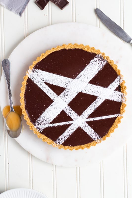 Chocolate Whiskey Tart